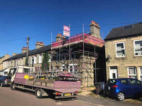 St Ives Domestic Scaffolding Hire